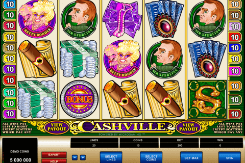 cashville microgaming pokie