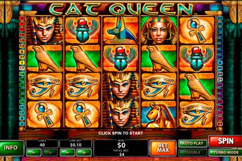 cat queen playtech pokie