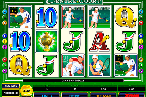 centre court microgaming pokie