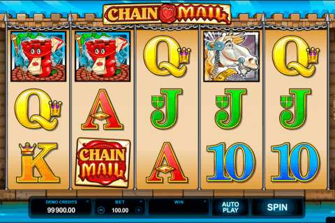 chain mail microgaming pokie