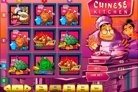 chinese kitchen playtech pokie