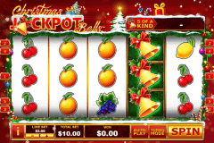 christmas jackpot bells playtech pokie