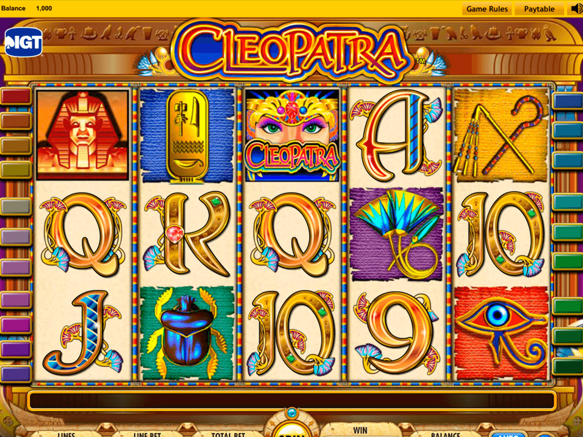 Free Slots Online Cleopatra