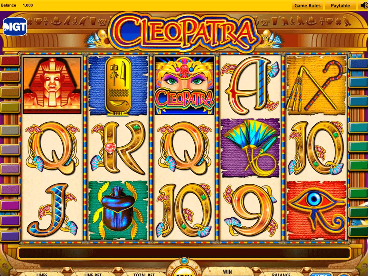 free casino slot machines cleopatra