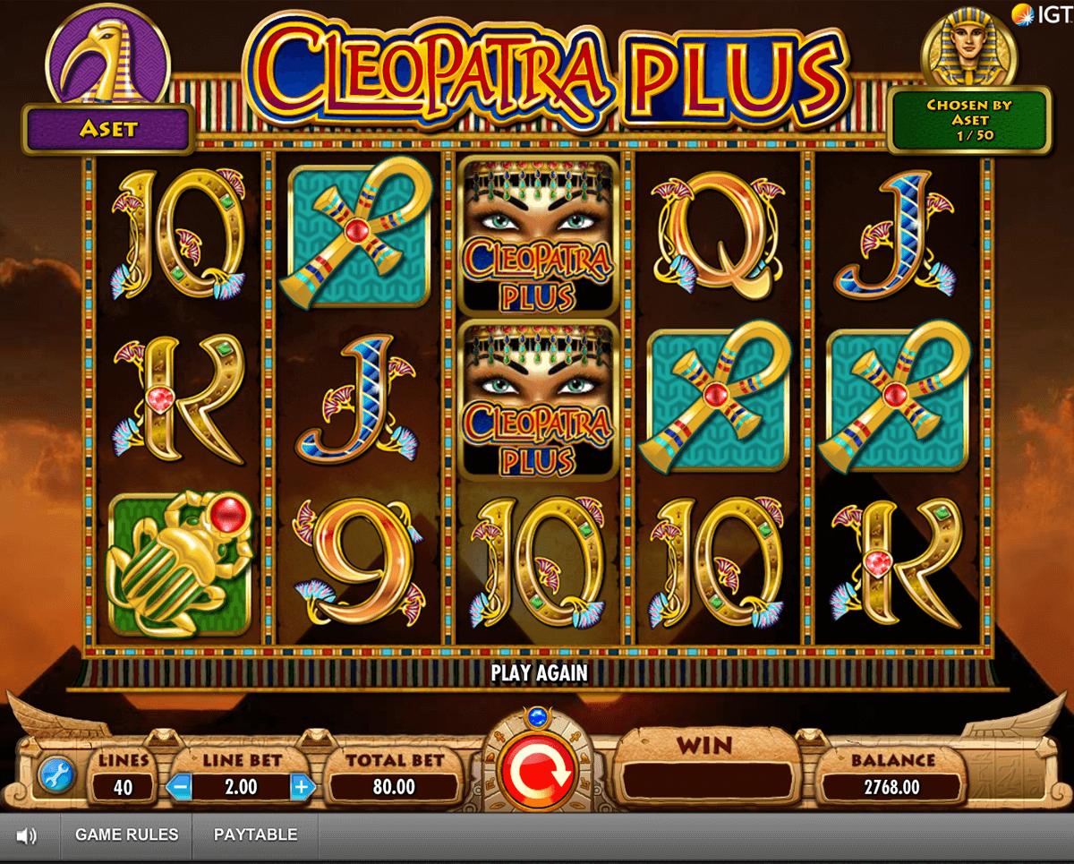 cleopatra plus igt pokie