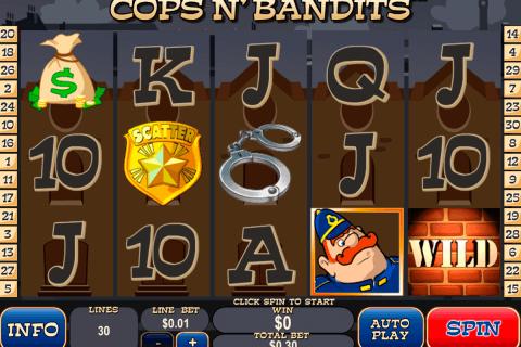 cops n bandits playtech pokie