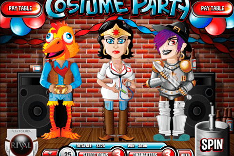 costume party rival pokie