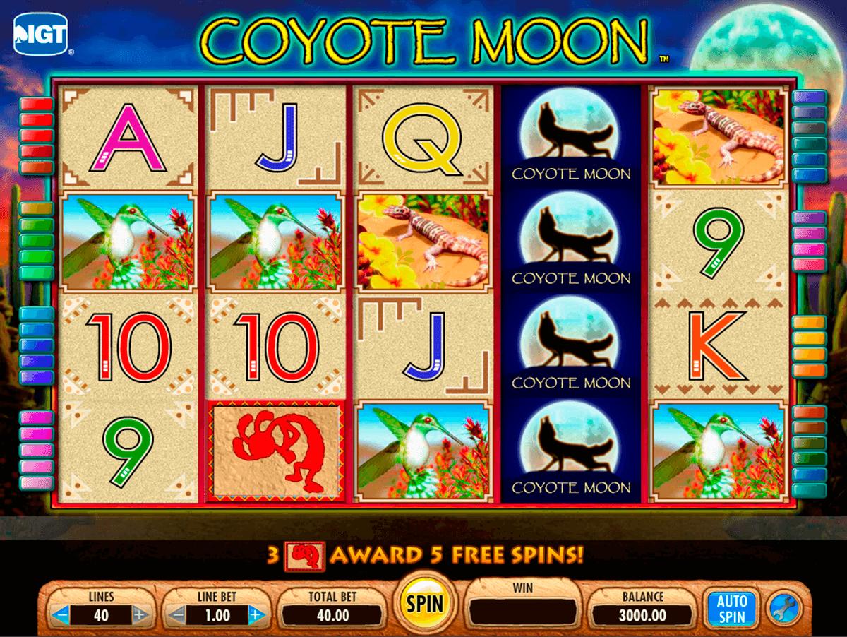 coyote moon igt pokie