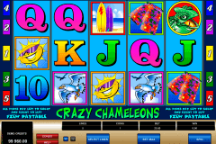 crazy chameleons microgaming pokie