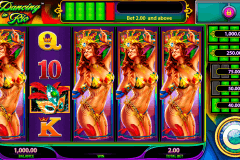 dancing in rio wms pokie