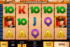 daring dave the eye of ra playtech pokie