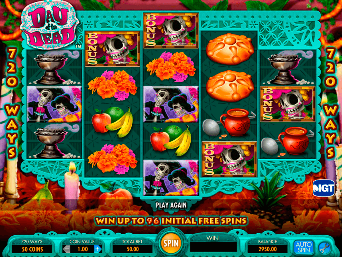 day of the dead igt pokie