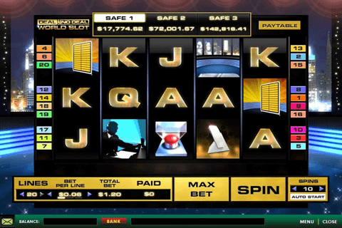 deal or no deal world playtech pokie