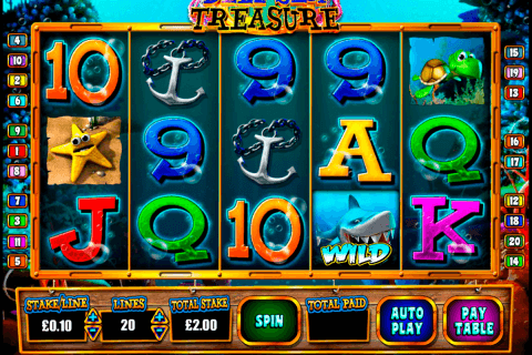 deep sea treasure blueprint pokie