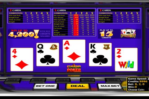 deuces wild betsoft video poker