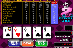 deuces wild video poker rtg video poker