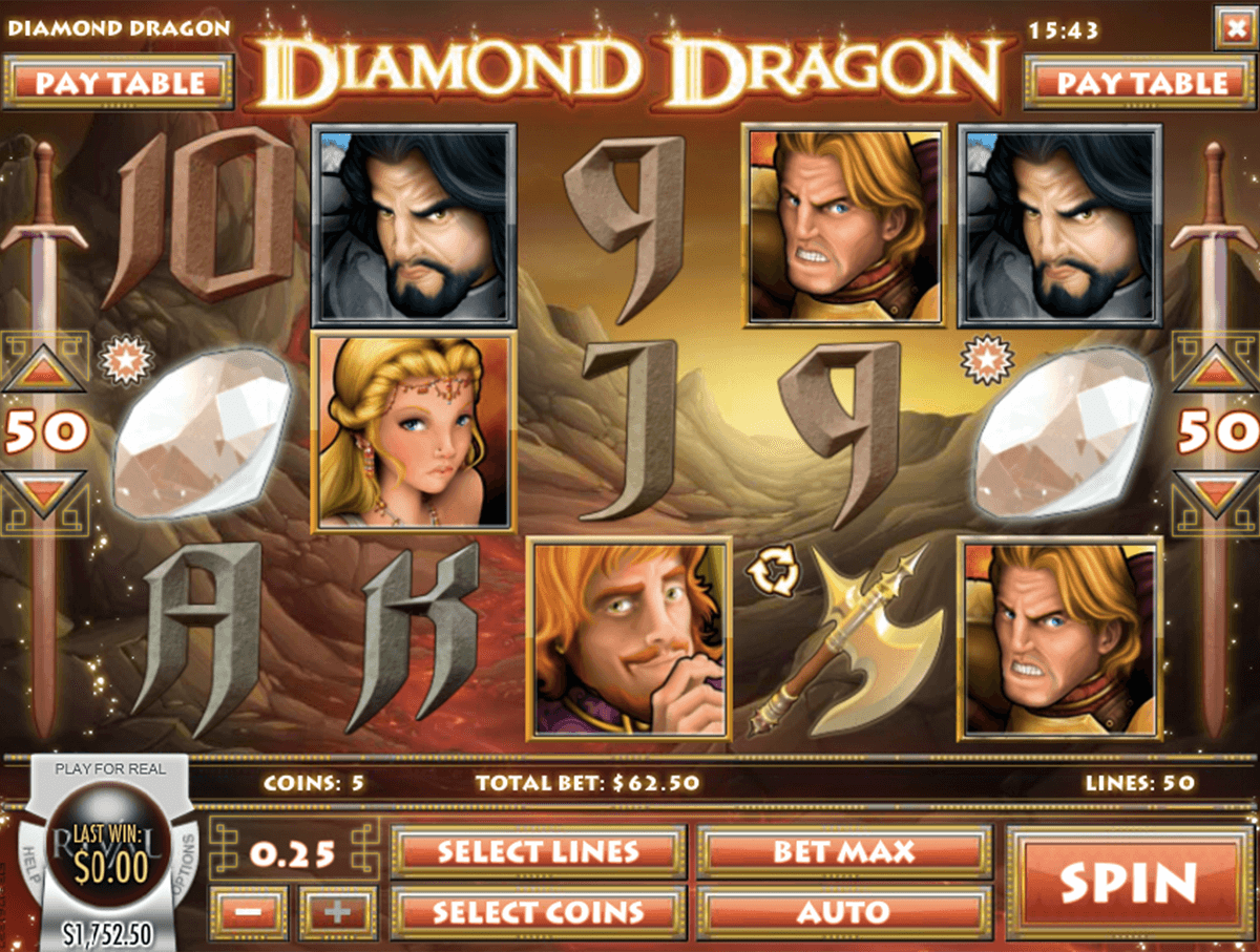 diamond dragon rival pokie