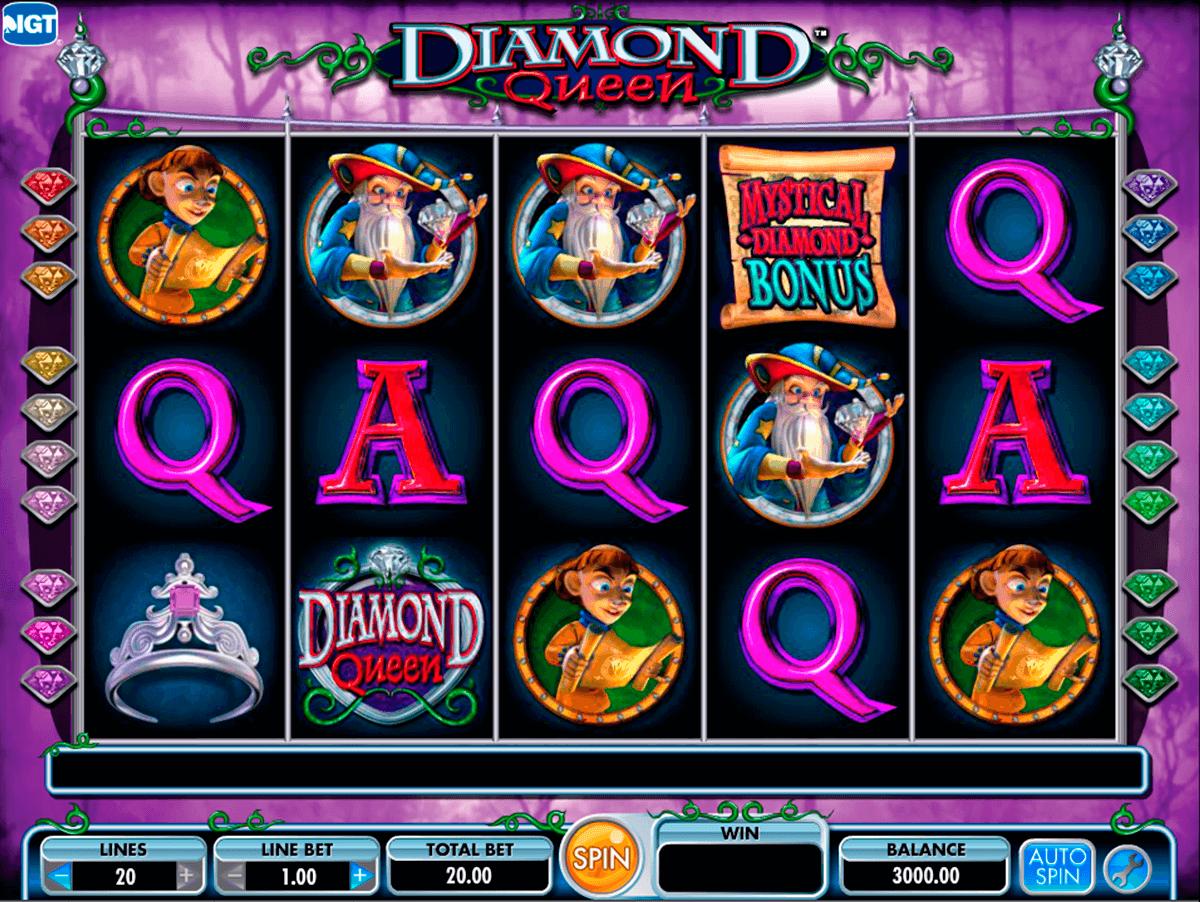 diamond queen igt pokie