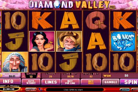 diamond valley playtech pokie