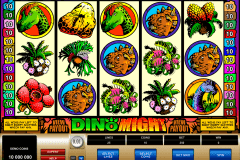 dino might microgaming pokie