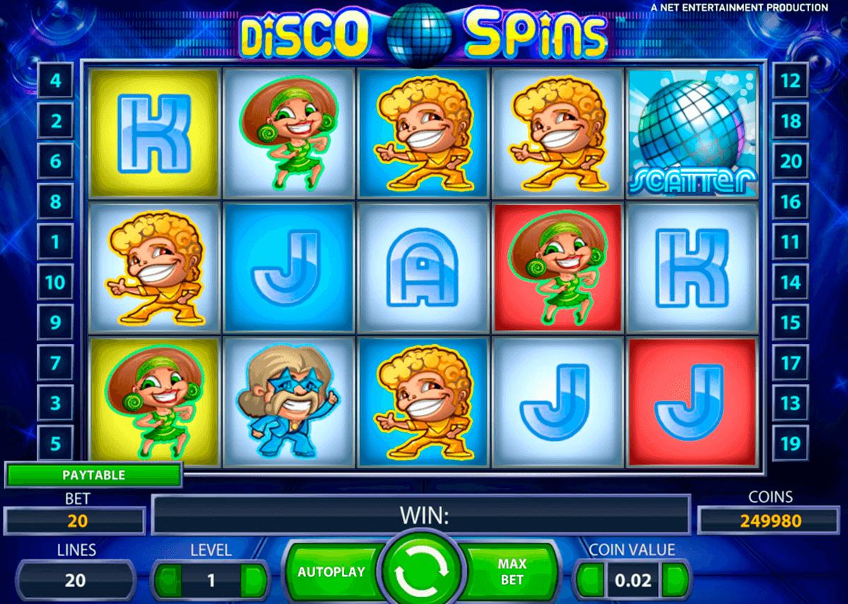 disco spins netent pokie