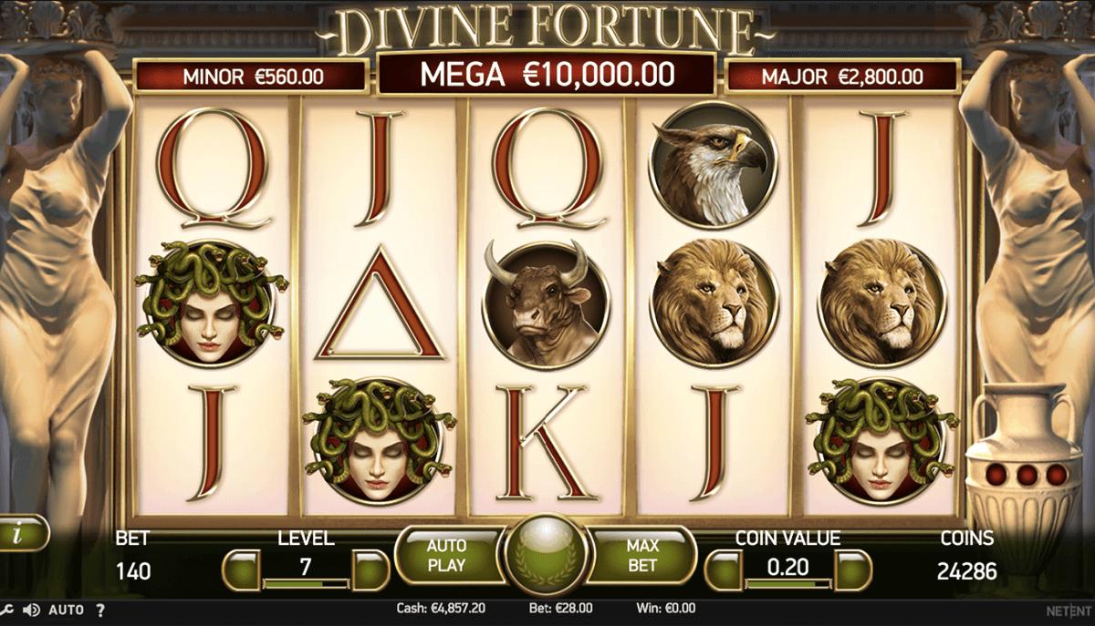 divine fortune netent pokie