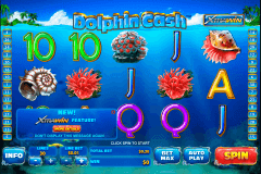 dolphin cash playtech pokie