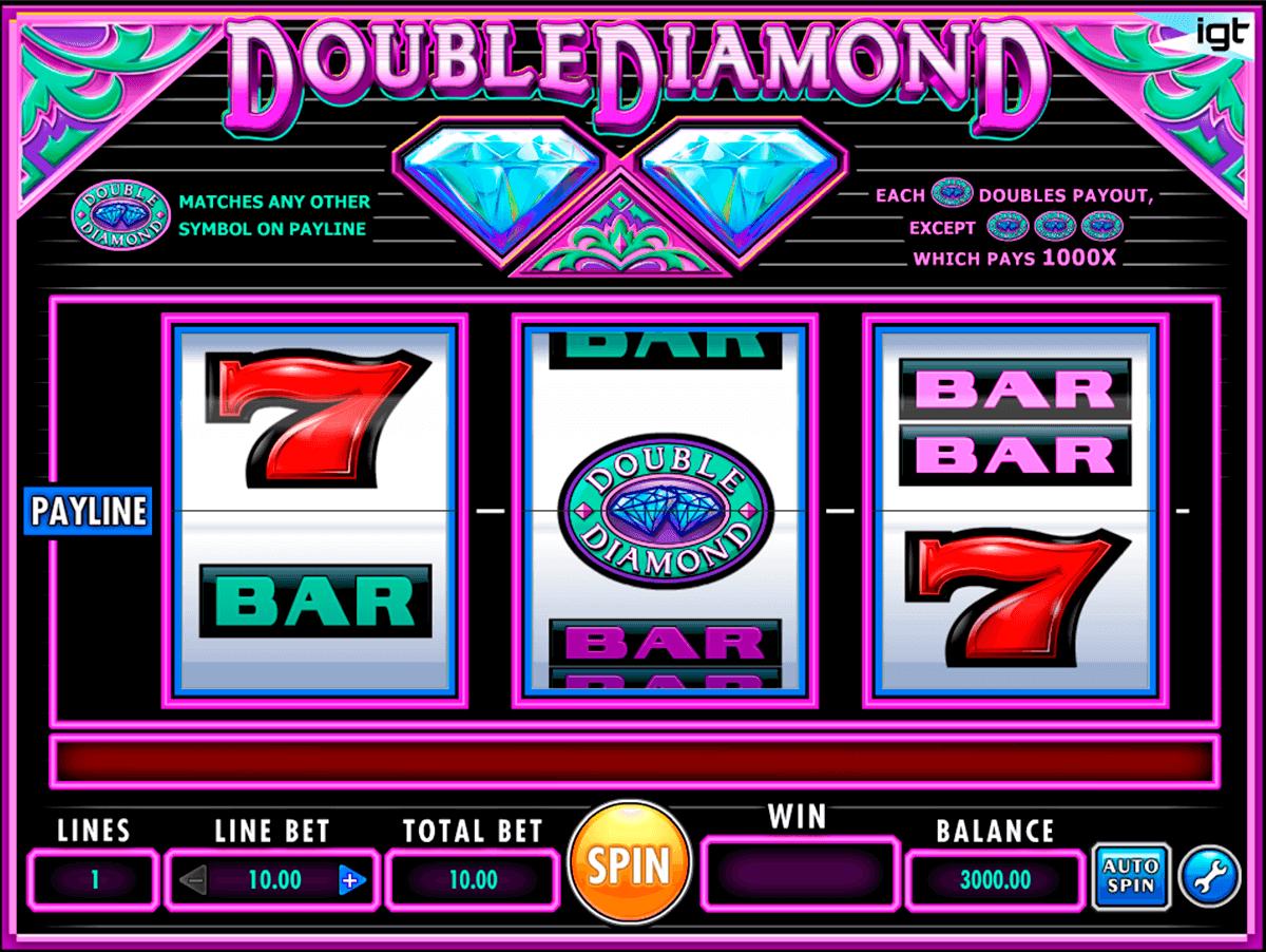 double diamond igt pokie