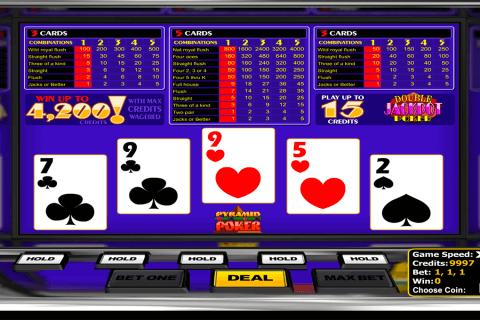 double jackpot poker betsoft video poker