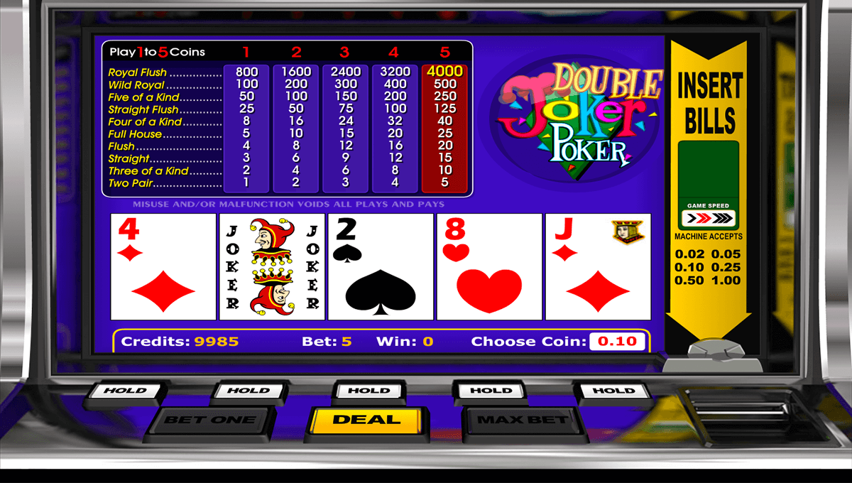 double joker poker betsoft video poker