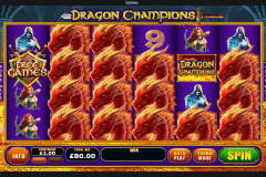 dragon champions playtech pokie