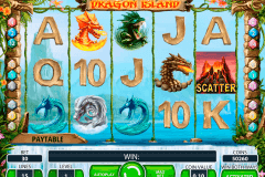 dragon island netent pokie
