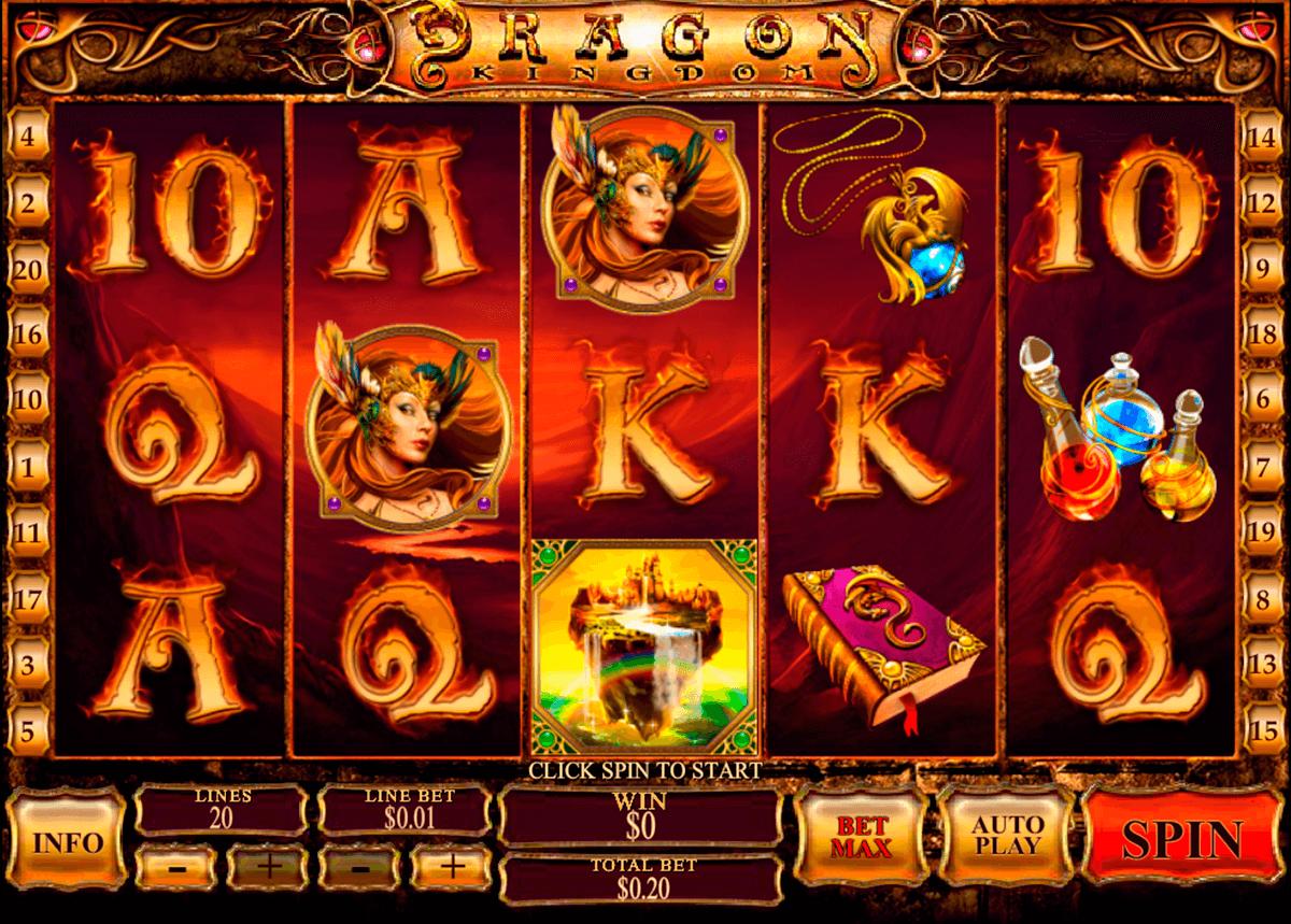dragon kingdom playtech pokie