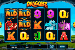 dragonz microgaming pokie