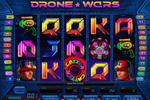 drone wars microgaming pokie