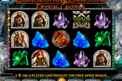 dungeons and dragons crystal caverns igt pokie