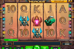 egyptian heroes netent pokie