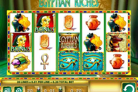 egyptian riches wms pokie