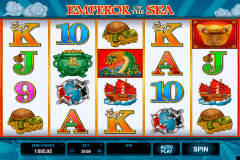 emperor of the sea microgaming pokie