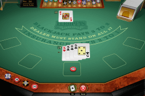 european blackjack gold microgaming