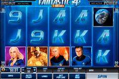 fantastic four  lines playtech pokie