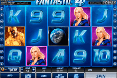 fantastic four playtech pokie