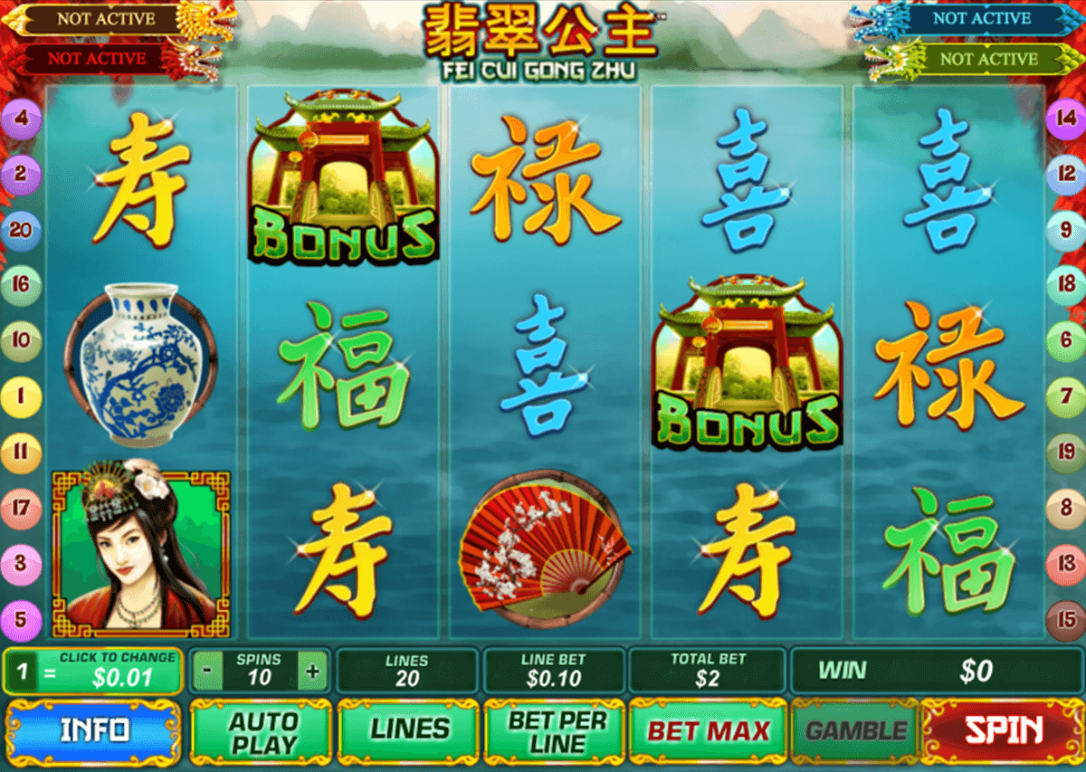 Play Fei Cui Gong Zhu Online Slot at Casino.com NZ