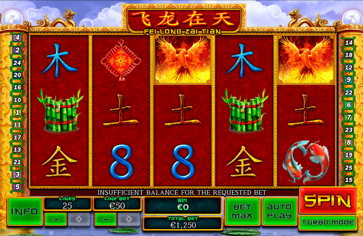 Play Fei Long Zai Tian Online Slot at Casino.com NZ