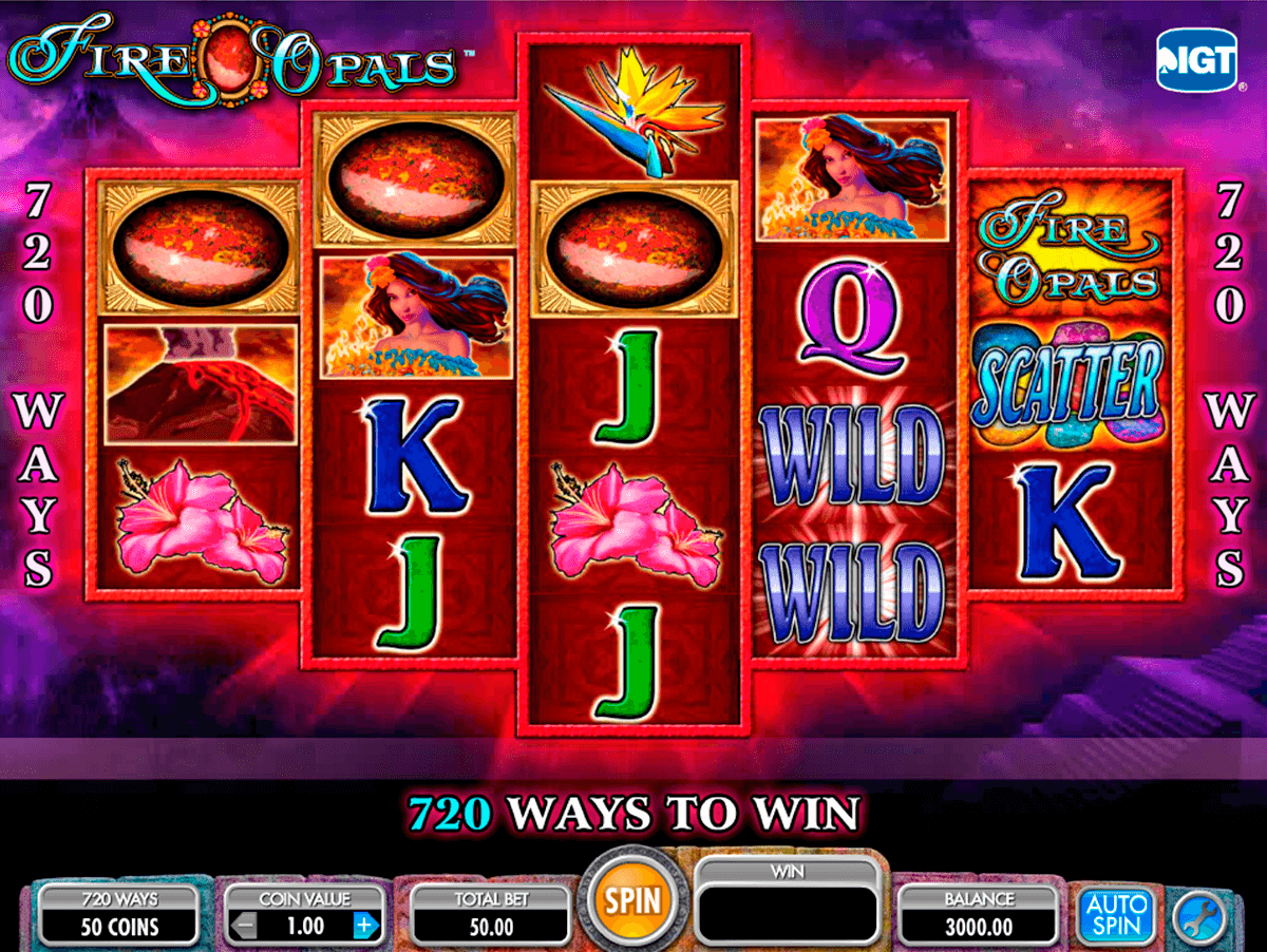 Fire Opals Slot Machine Play Free Igt Pokies Online