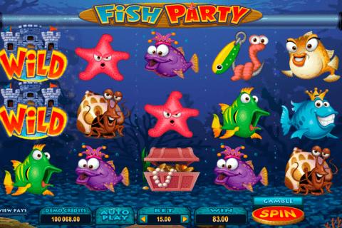 fish party microgaming pokie