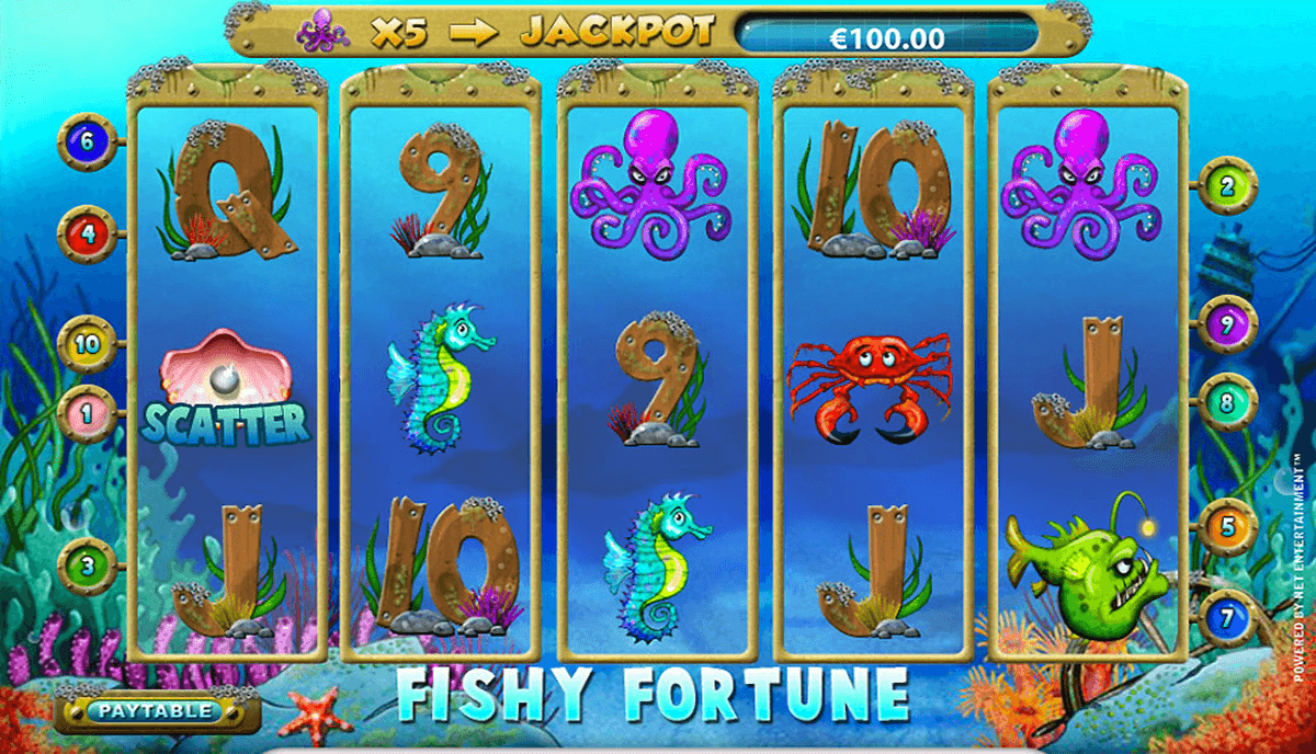 fishy fortune netent pokie