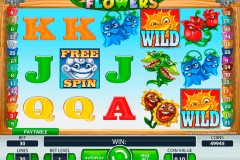 flowers netent pokie