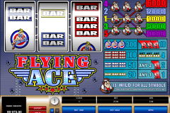 flying ace microgaming pokie