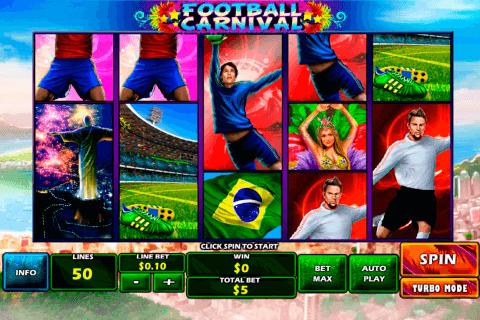 football carnival playtech pokie